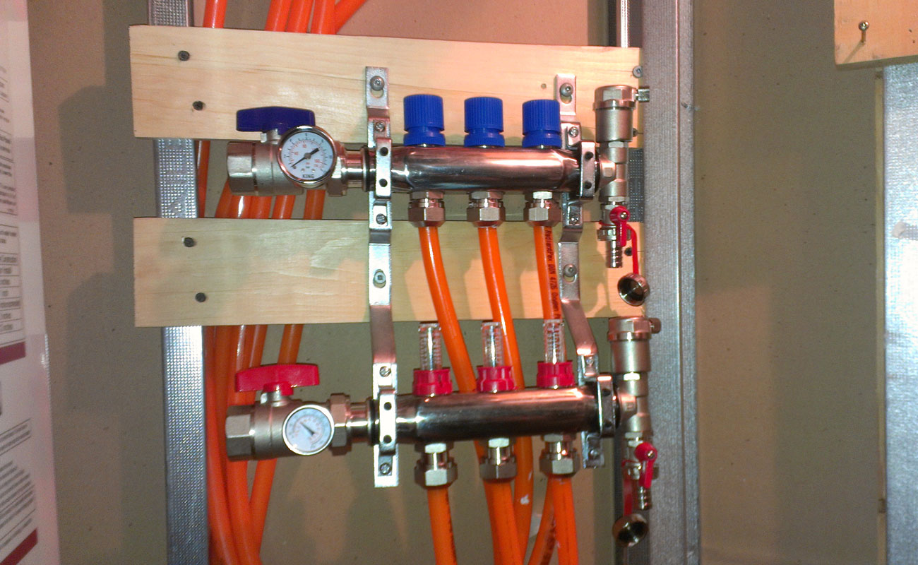 Hydronic Manifolds In Mississauga By Solkraft